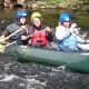 Canoeing the River Wye in aid of Acorns Children's Hospice Trust